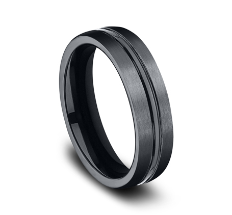 6MM CERAMIC COMFORT FIT SATIN FINISHED BAND CF56411CM 1 - 6MM CERAMIC COMFORT-FIT SATIN-FINISHED BAND CF56411CM