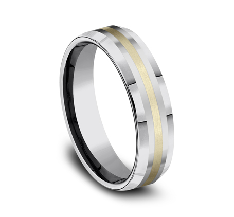 6MM COMFORT FIT TUNGSTEN BAND CF6642618KYTG 1 - 6MM COMFORT-FIT TUNGSTEN BAND CF6642618KYTG