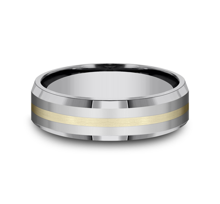 6MM COMFORT FIT TUNGSTEN BAND CF6642618KYTG 2 - 6MM COMFORT-FIT TUNGSTEN BAND CF6642618KYTG