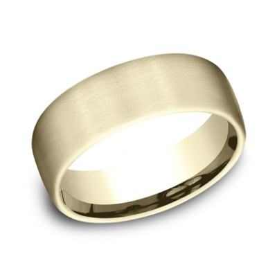 7.5MM COMFORT FIT SATIN FINISHED BAND CF717561Y - 7.5MM COMFORT-FIT SATIN FINISHED BAND CF717561Y