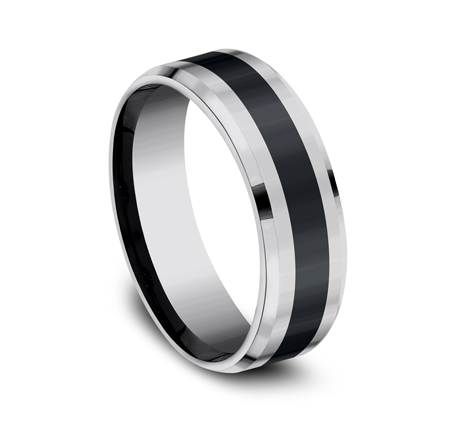 7MM COMFORT FIT TUNGSTEN BAND CF67861CMTG 1 - 7MM COMFORT-FIT TUNGSTEN BAND CF67861CMTG