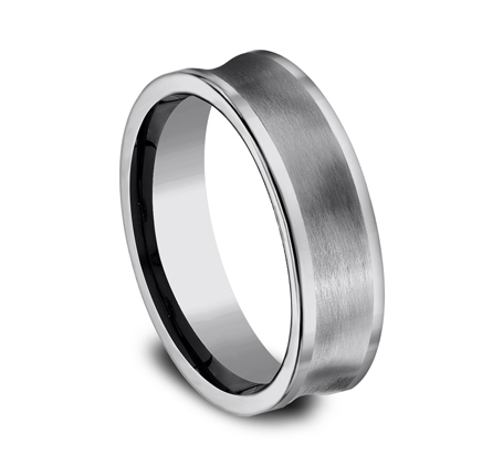 7MM CONCAVED TUNGSTEN BAND CF67001TG 1 - 7MM CONCAVED TUNGSTEN BAND CF67001TG