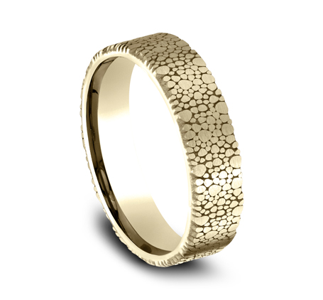 7MM YELLOW GOLD DESIGN BAND 1 - 6MM YELLOW GOLD DESIGN BAND CF896852Y