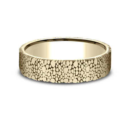 7MM YELLOW GOLD DESIGN BAND 2 - 6MM YELLOW GOLD DESIGN BAND CF896852Y
