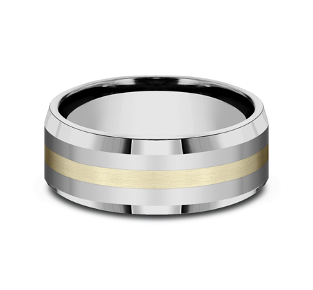 8MM COMFORT FIT TUNGSTEN BAND CF6842618KYTG 2 - 8MM COMFORT-FIT TUNGSTEN BAND CF6842618KYTG