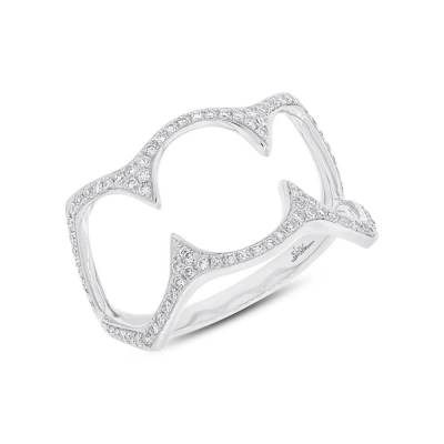 0.23ct 14k White Gold Diamond Ladys Ring SC55002499 - 0.23ct 14k White Gold Diamond Lady's Ring SC55002499