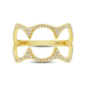 0.23ct 14k Yellow Gold Diamond Ladys Ring SC55002500 1 300x300 - Custom jewelry Dallas TX- for the love of your life
