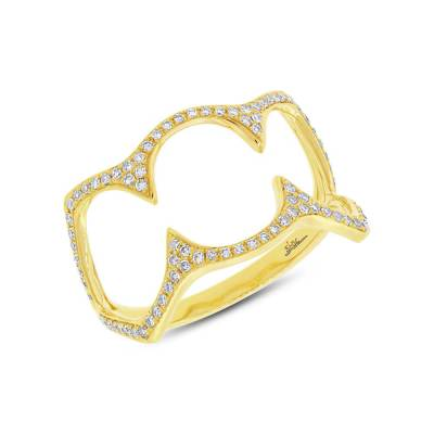 0.23ct 14k Yellow Gold Diamond Ladys Ring SC55002500 - 0.23ct 14k Yellow Gold Diamond Lady's Ring SC55002500