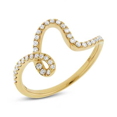 0.25ct 14k Yellow Gold Diamond Ladys Ring SC22003808 - 0.25ct 14k Yellow Gold Diamond Lady's Ring SC22003808