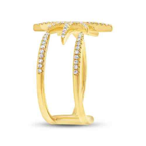 0.26ct 14k Yellow Gold Diamond Ladys Ring SC55002414 2 - 0.26ct 14k Yellow Gold Diamond Lady's Ring SC55002414