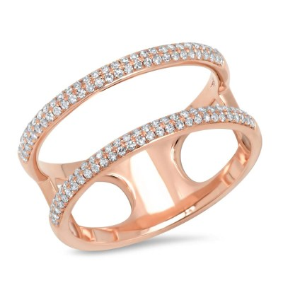 0.30ct 14k Rose Gold Diamond Ladys Ring SC55002847V2 - 0.30ct 14k Rose Gold Diamond Lady's Ring SC55002847V2