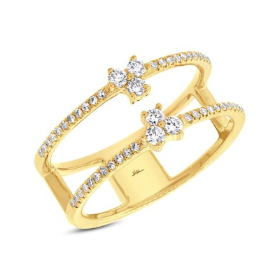 0.30ct 14k Yellow Gold Diamond Ladys Ring SC55002726 - 0.30ct 14k Yellow Gold Diamond Lady's Ring SC55002726