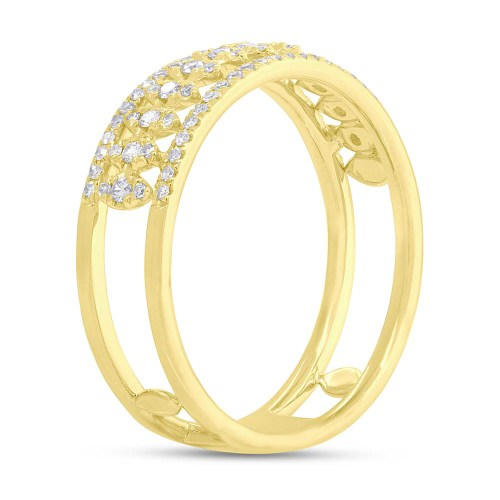 0.30ct 14k Yellow Gold Diamond Ladys Ring SC55006584 1 - 0.30ct 14k Yellow Gold Diamond Lady's Ring SC55006584