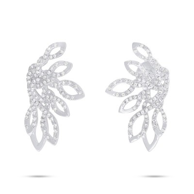 0.33ct 14k White Gold Diamond Earring SC55006723 - 0.33ct 14k White Gold Diamond Earring SC55006723