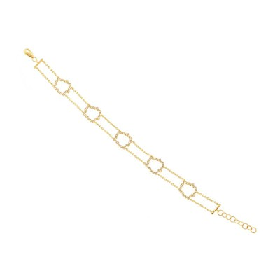 0.43ct 14k Yellow Gold Diamond Bracelet SC55002562 - 0.43ct 14k Yellow Gold Diamond Bracelet SC55002562