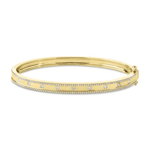 0.62ct 14k Yellow Gold Diamond Bangle SC55004170ZS - 0.62ct 14k Yellow Gold Diamond Bangle SC55004170ZS