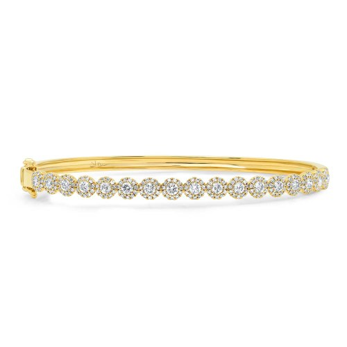 1.35ct 14k Yellow Gold Diamond Bangle SC55004305ZS - 1.35ct 14k Yellow Gold Diamond Bangle SC55004305ZS