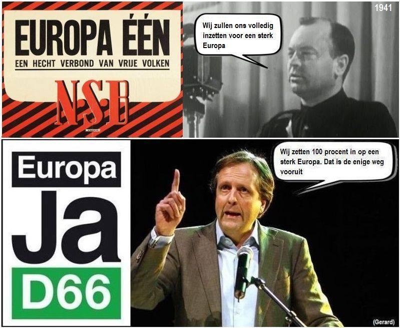 één europa toen en nu