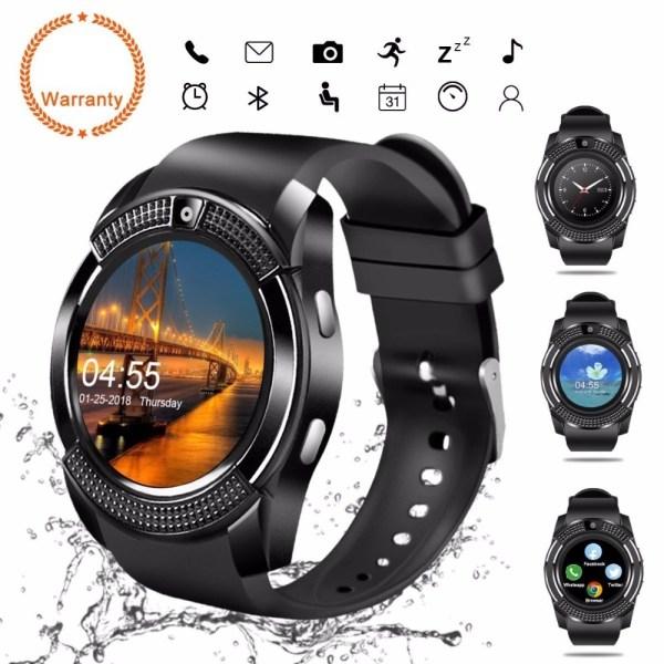 V8 Smart Watch Black