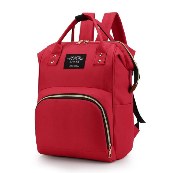 Mum Diaper Bag Red