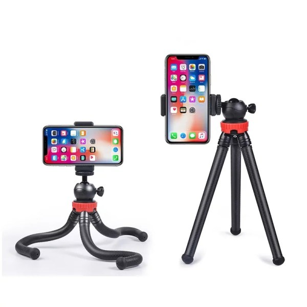 Flexible Portable Travel Octopus Tripods for camera and smartphone www.bovic.ke