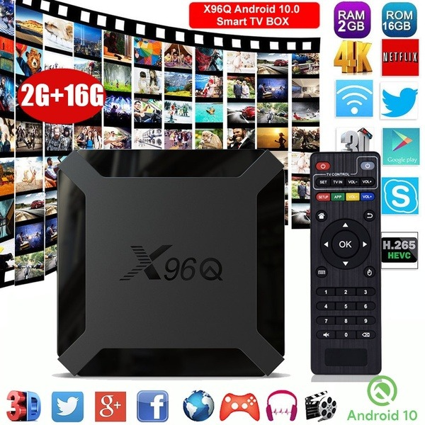 X96 Q 2gb Ram 16gb Rom 2 Android Box