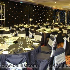 Black Chair Covers To Hire Godrej Accessories Wedding Cover Uk