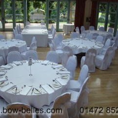 White Chair Sashes Zebra High Wedding Cover Hire Chairs With Organza