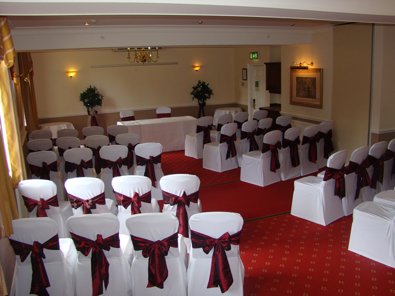chair cover hire derbyshire barrel cushions wedding