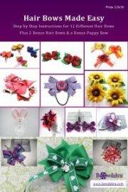 hair bows easy -book bowdabra
