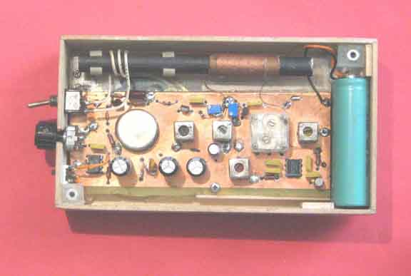 Sensitive Fm Radio Tuner Circuit Schematic