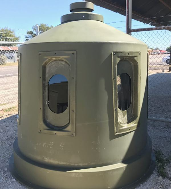 16 inch Bow Dome Windows