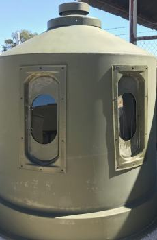16 inch Bow Dome Windows