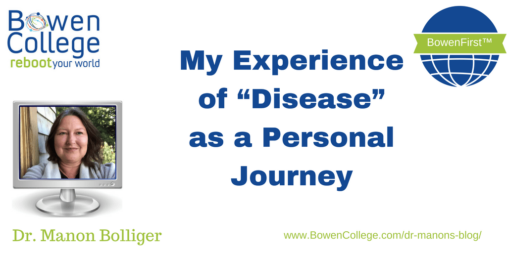 """My Experience of """"Disease"""" as a Personal Journey"""
