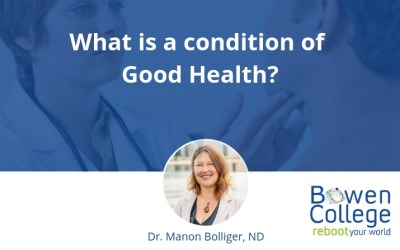 What is a condition of Good Health?