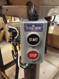 Table saw Start/Stop - Bowen Creative Labs
