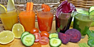 smoothies - perfect plate