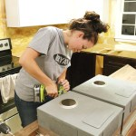 How To Cut Seal Install Butcherblock Countertops With An Undermount Sink Bower Power