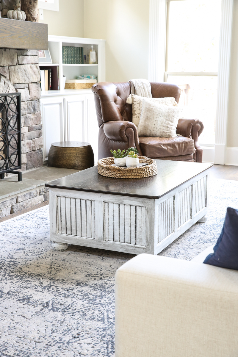 glazing furniture diy coffee table