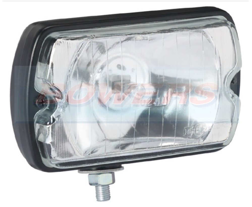 medium resolution of sim 3211 rectangular front spot driving lamp light peugeot 205 gti cti 106 306 mi16