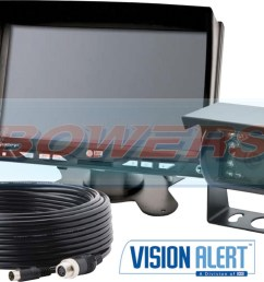 vision alert k7000b ecco gemineye 12v 24v reverse reversing camera kit k7000b [ 1100 x 791 Pixel ]