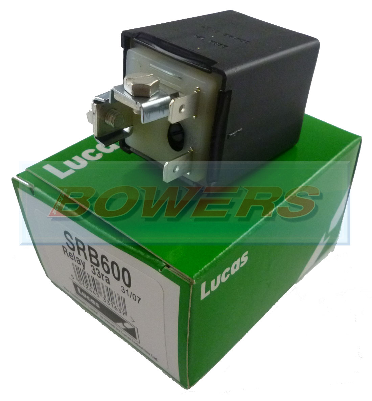 Product Image For Lucas 33ra Srb600 12v Relay