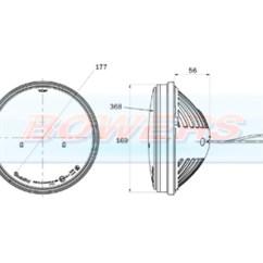 Truck Lite Led Headlight Wiring Diagram 4 Wire Relay 27291c 7 Inch Round Headlamp H Bowers Trucklite Upgrade Schematic