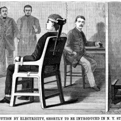 Electric Chair Was Invented By Fujita Massage This Morbid Invention The Terrible Story Of First