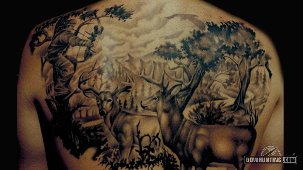 photo Bow Hunting Tattoos bowhunting com