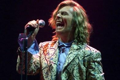 David Bowie at the Glastonbury Festival, 25 June 2000
