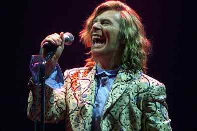 David Bowie at the Glastonbury Festival, 25 June 2000