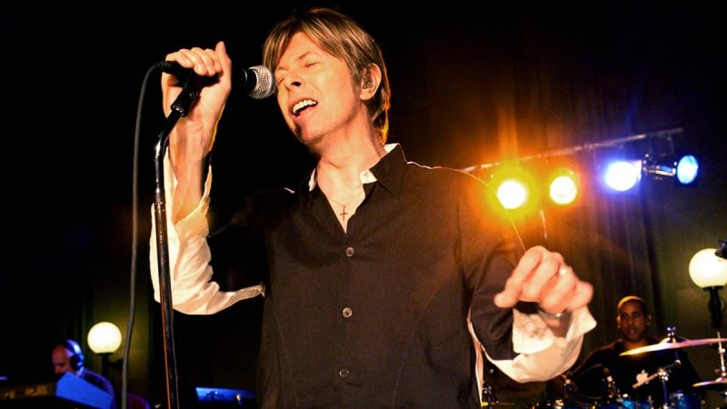 David Bowie live at BBC Maida Vale, 18 September 2002