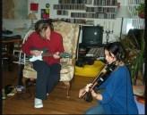 David Bowie and Lisa Germano, 2000
