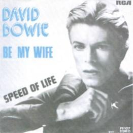 Be My Wife single –Belgium